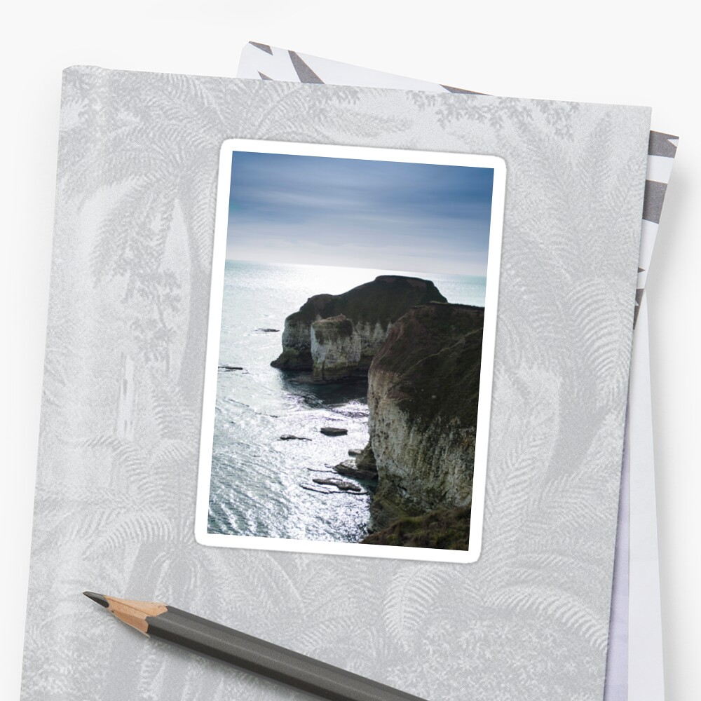 Chalk Cliffs Sticker