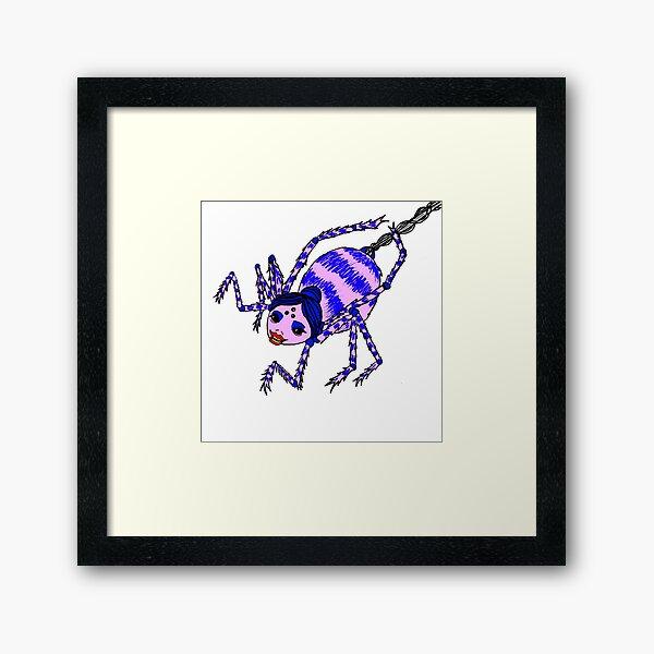 Suze Spider Framed Art Print