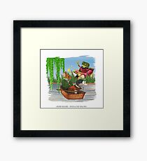 Wind & the Willows Framed Print