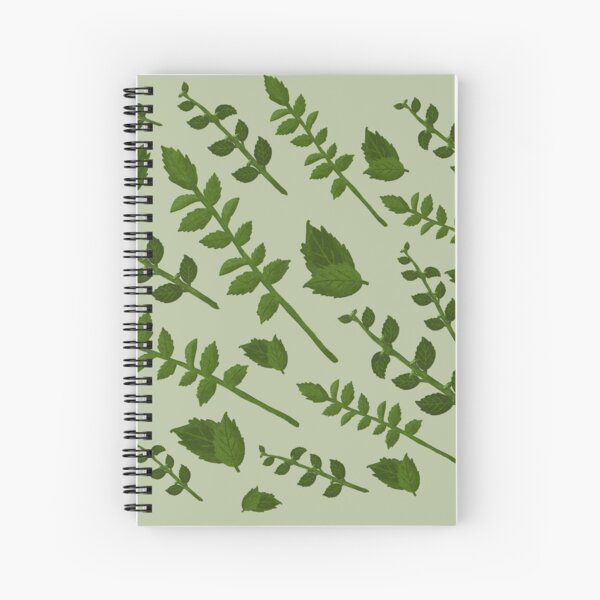 Minty Home Spiral Notebook