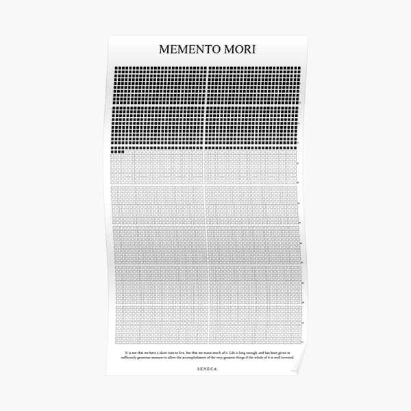 Memento Mori Poster Poster