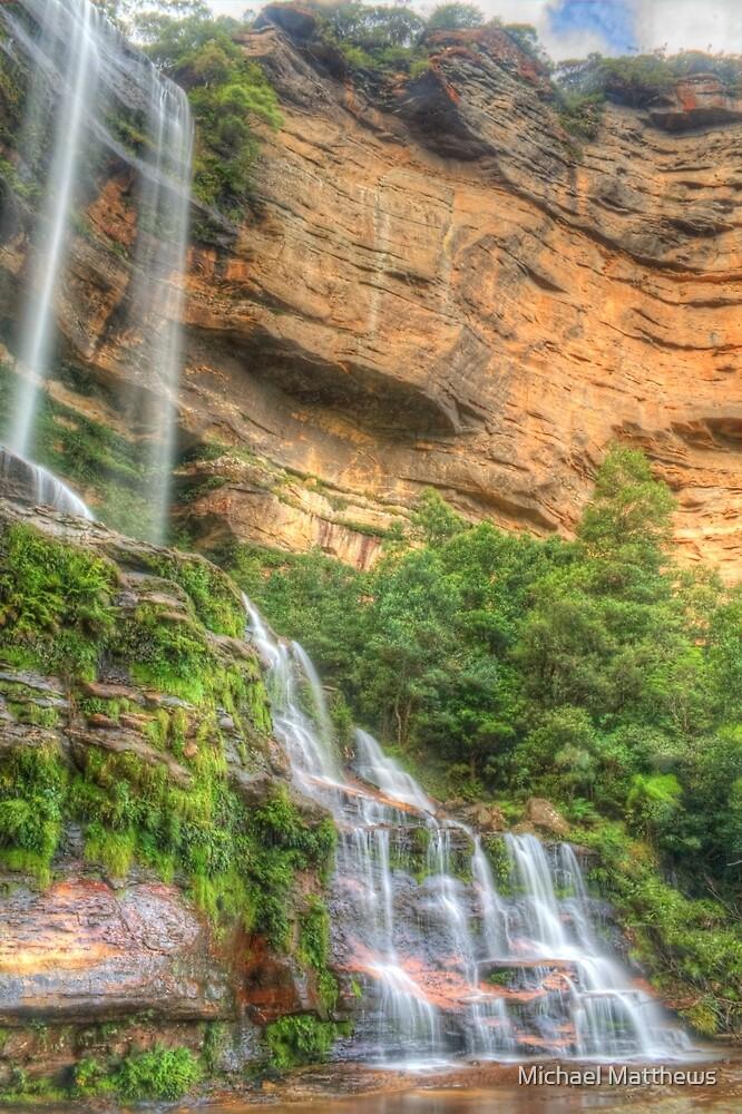 Katoomba Falls .. one more time by Michael Matthews