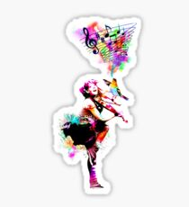 A Bird And The Violinist Sticker