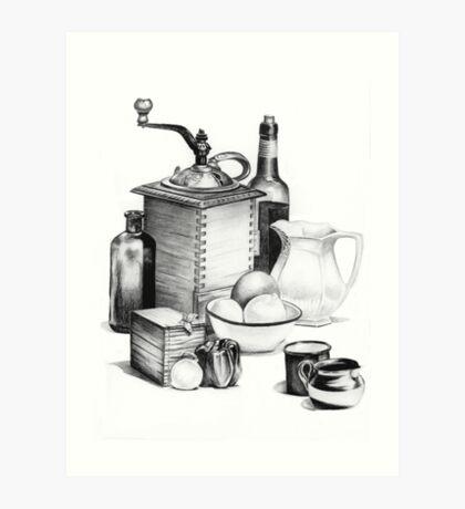 Still Life by Margaret Harris Art Print