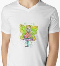 Cookie The Country Fair Fairy Men's V-Neck T-Shirt