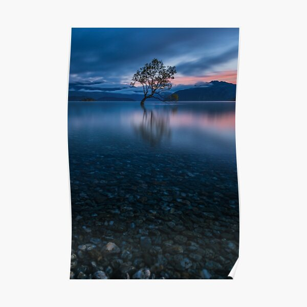 Sunrise at Lake Wanaka Poster