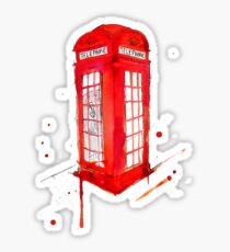 Telephone Booth 578 Sticker