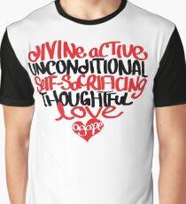 Agape Love Graphic T-Shirt