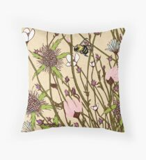 Wild Flowers Part 1 Throw Pillow