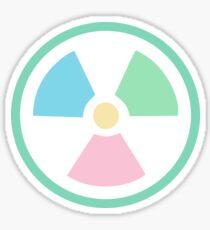 Radioactive Pastels Sticker