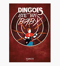 Buffy: Dingoes ate my baby Photographic Print