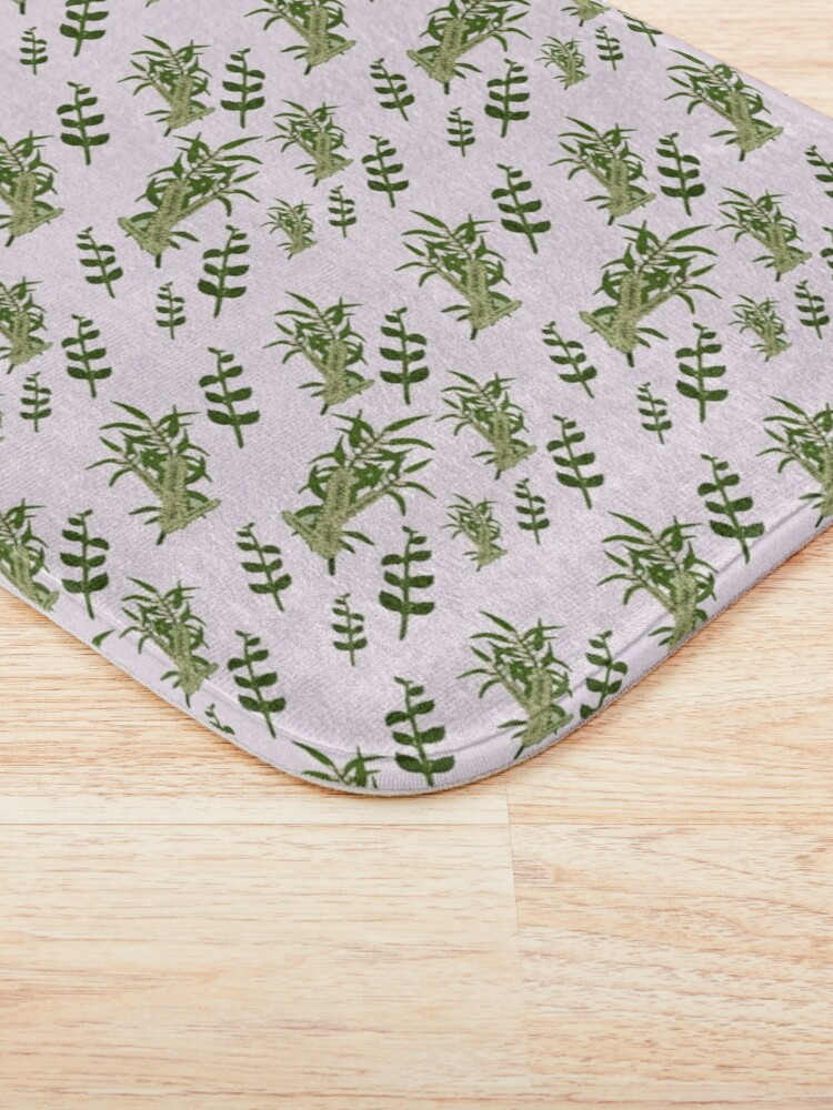 Alternate view of Pastels and Mint Home Bath Mat