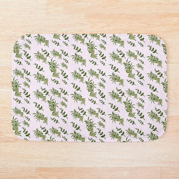Pastels and Mint Home Bath Mat