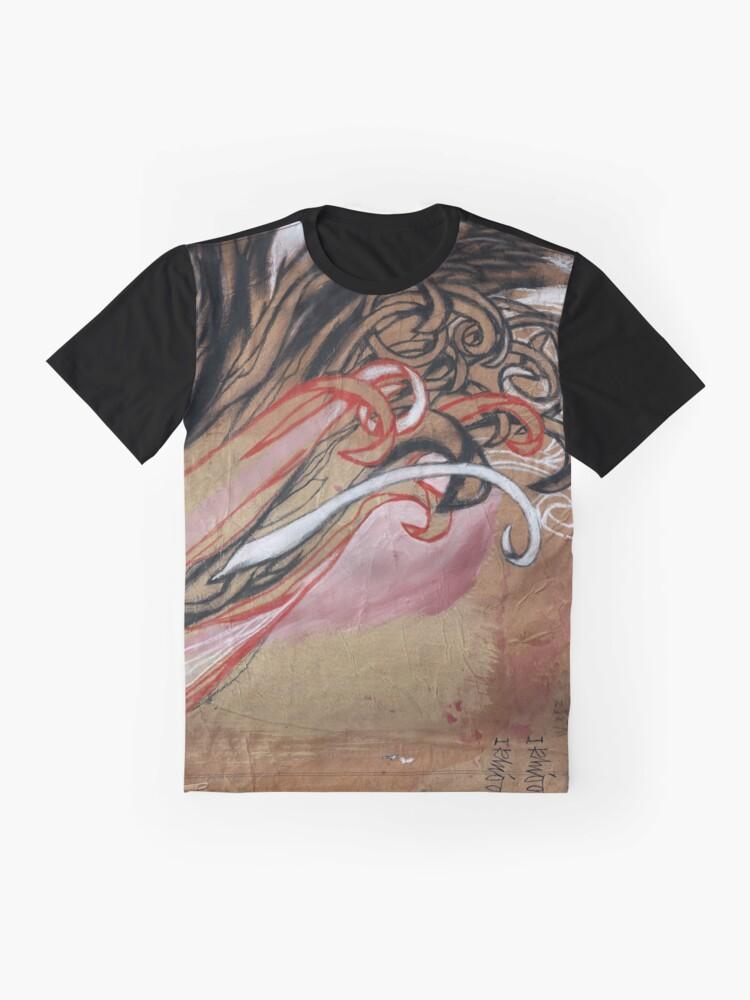 Alternate view of Ikhioogla flames Graphic T-Shirt