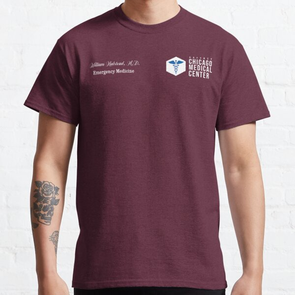 CHICAGO MED - WILL HALSTEAD - SCRUBS - EMERGENCY MEDICINE Classic T-Shirt
