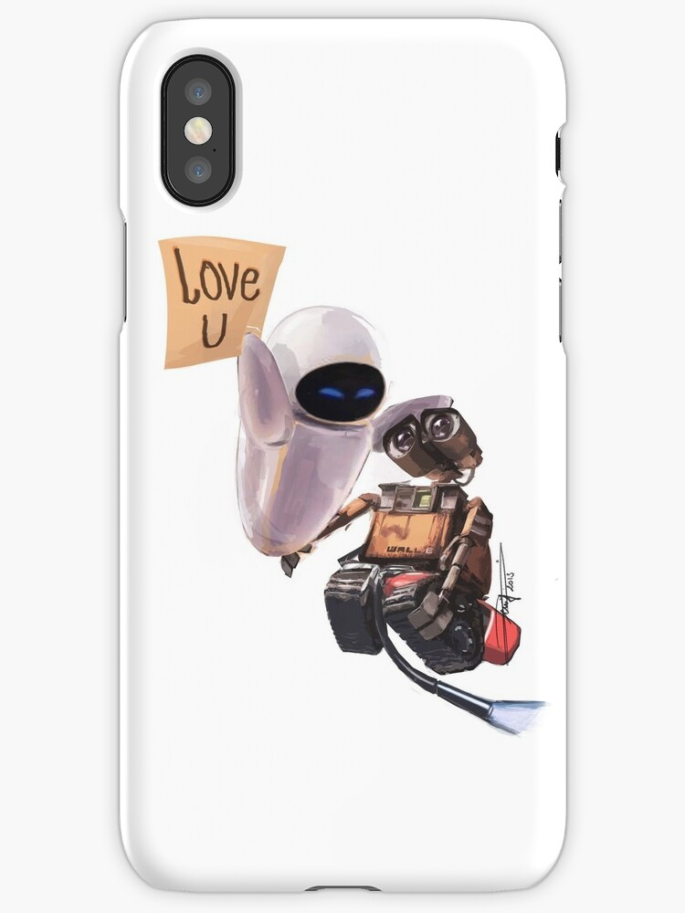 Wall e eve iphone cases skins by gnyfeur redbubble - Walle and eve mugs ...