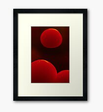 How Can You Not Lava Lamp? Framed Print