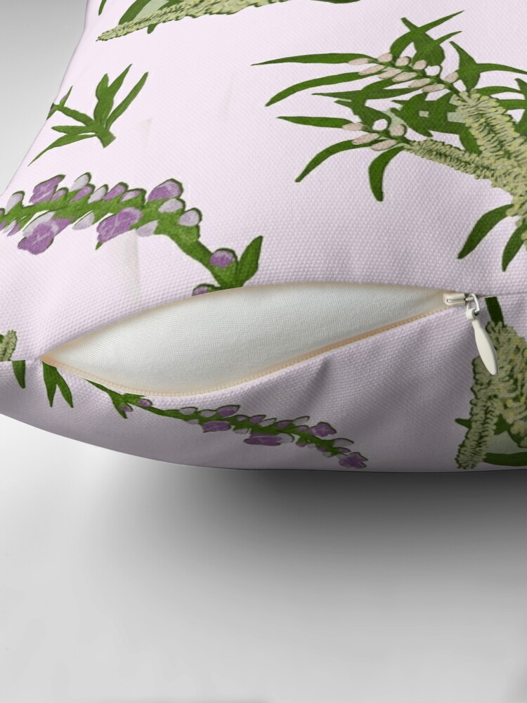 Alternate view of Pastels and Lavender Home Throw Pillow