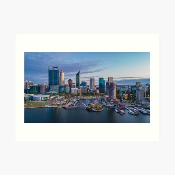 Elizabeth Quay - Perth Art Print
