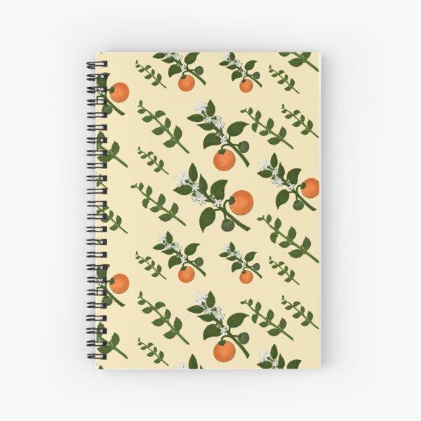 Minty Orange Paper Spiral Notebook