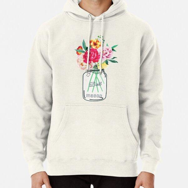 Mason Jar Flower Pullover Hoodie