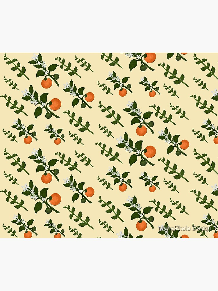Minty Orange Home by MahaphalaDesign
