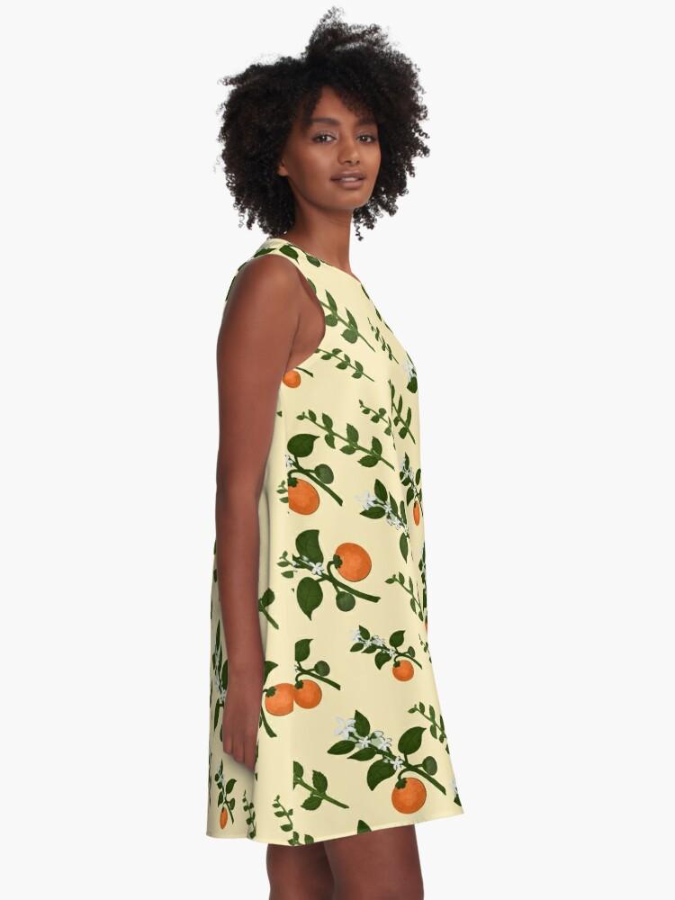 Alternate view of Minty Orange Wear A-Line Dress