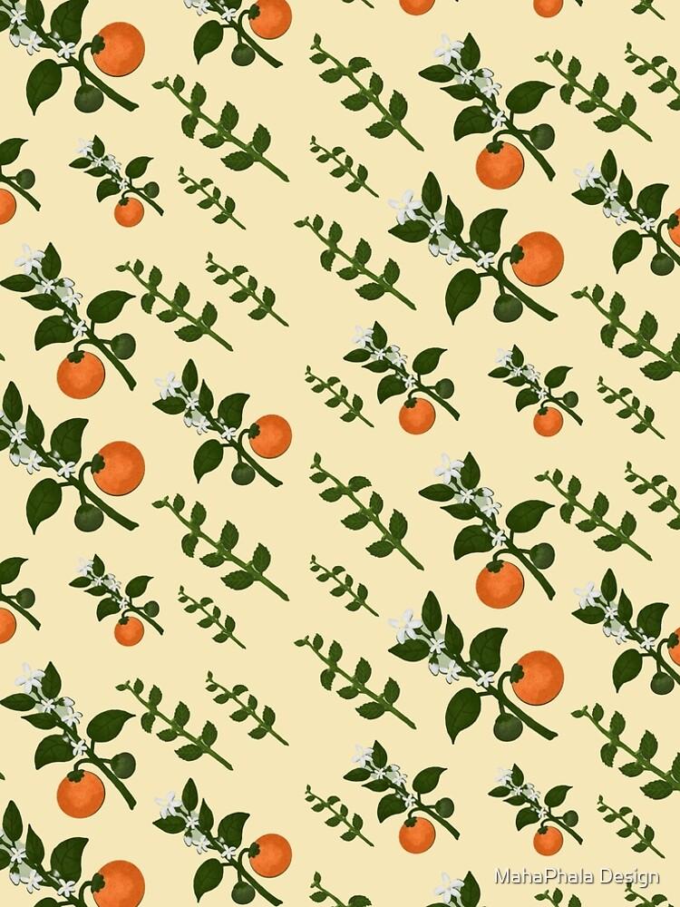 Minty Orange Wear by MahaphalaDesign