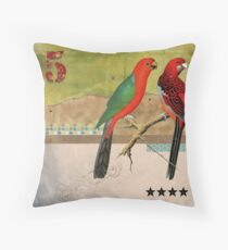 Animal Collection by Elo -- Birds Throw Pillow