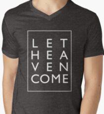 Let Heaven Come - White Men's V-Neck T-Shirt