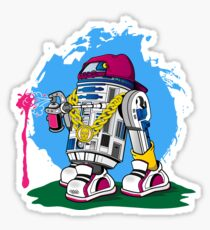 Star Wars: Street Art2D2 Sticker