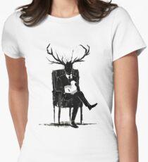 Hannibal Lecter NBC Stag Antlers Lamb T-Shirt