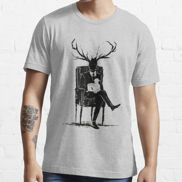 Hannibal Lecter NBC Stag Antlers Lamb Essential T-Shirt