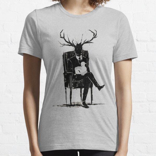 Hannibal Lecter NBC Ciervo Astas Cordero Camiseta esencial