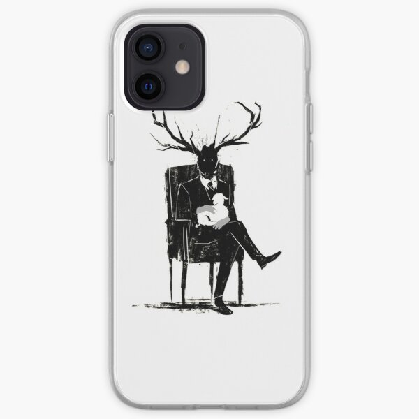 Hannibal Lecter NBC Stag Antlers Lamb iPhone Soft Case