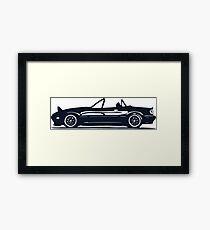 Mazda Miata Framed Print