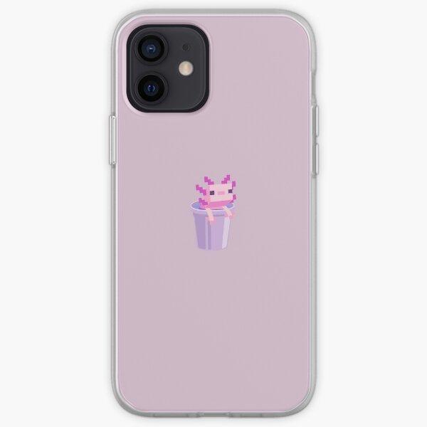 Minecraft Axolotl iPhone Soft Case