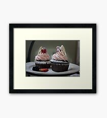 Chocolate Cupcakes Framed Print