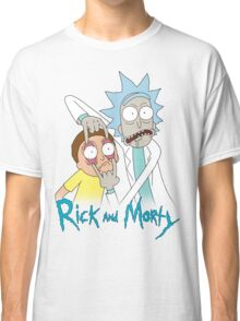 Rick And Morty   Eyes Wide Open Classic T-Shirt