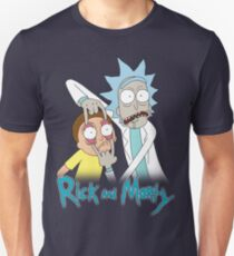 Rick And Morty   Eyes Wide Open T-Shirt