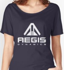 Aegis Dynamics White Women's Relaxed Fit T-Shirt