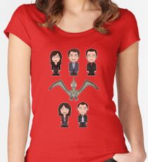 Torchwood team (shirt) Women's Fitted Scoop T-Shirt