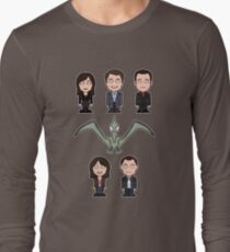 Torchwood team (shirt) Long Sleeve T-Shirt