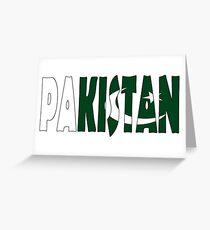 Pakistan Greeting Card