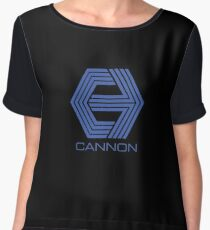 Cannon Films Women's Chiffon Top