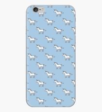 Nettes Einhornmuster iPhone-Hülle & Cover