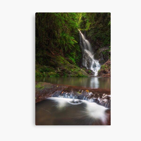 Elabana falls - vertical frame Canvas Print