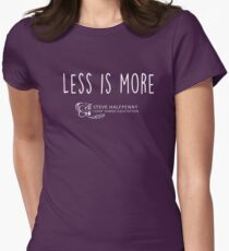 Less is more horsemanship collection Women's Fitted T-Shirt