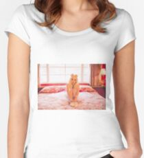 That Poppy Women's Fitted Scoop T-Shirt