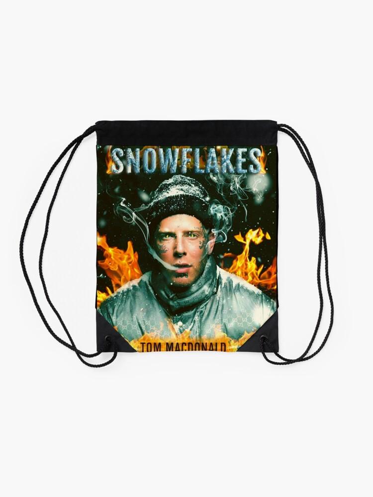 Alternate view of tom macdonald Drawstring Bag